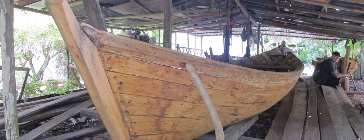 Sarawak River Part 3 of 4: Master Boat Builders