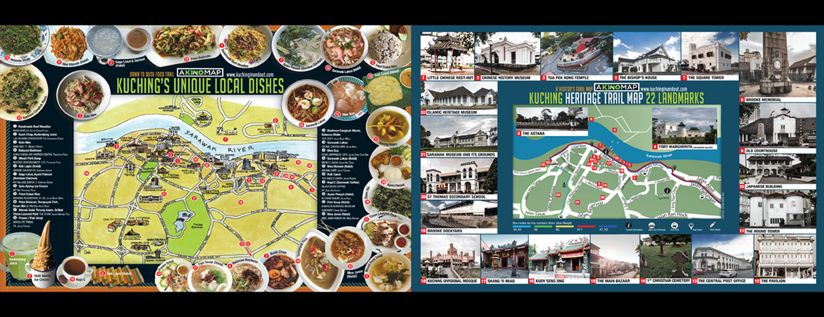 KINO FOOD & HERITAGE TRAIL MAPS